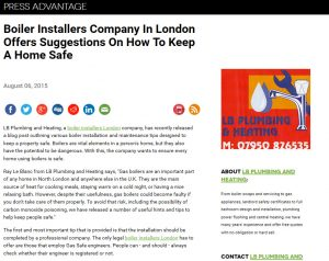 Boiler Installers Company In London
