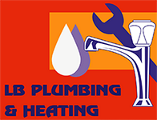LB Plumbing and Heating Logo